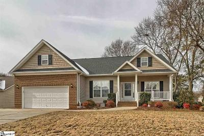 Simpsonville Single Family Home Contingency Contract: 4 Cranston