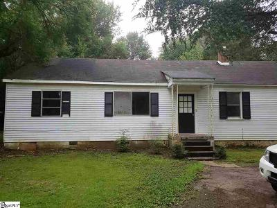 Spartanburg Single Family Home For Sale: 110 Anderson