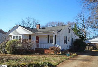 Greenville Single Family Home For Sale: 28 Holmes
