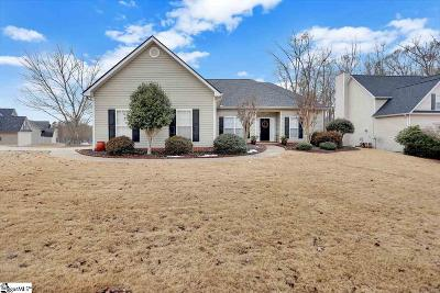 Simpsonville Single Family Home For Sale: 201 Coltsfoot
