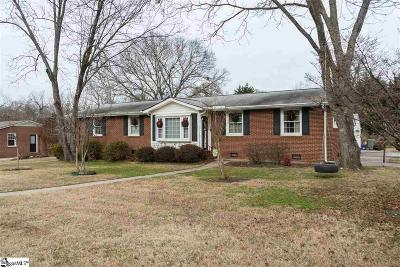 Mauldin Single Family Home For Sale: 209 Bethel