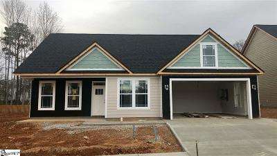 Simpsonville Single Family Home For Sale: 307 Loxley