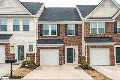 Greenville SC Condo/Townhouse For Sale: $199,900