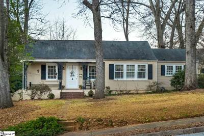 Greenville Single Family Home For Sale: 16 Pinehurst