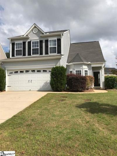 Simpsonville Single Family Home For Sale: 7 Twinings