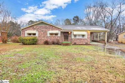 Spartanburg Single Family Home For Sale: 691 Archer