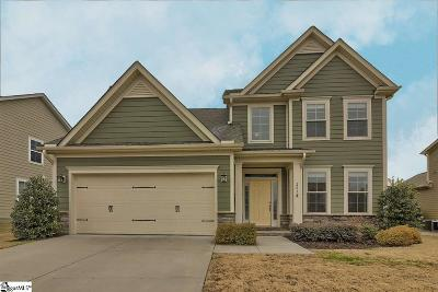 Simpsonville Single Family Home For Sale: 223 Clairhill