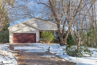 Greer Single Family Home For Auction: 114 Plantation