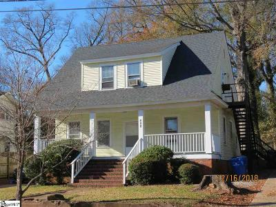 Greenville Single Family Home For Sale: 111 Atwood