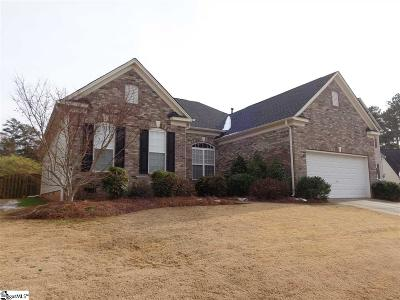 Simpsonville Single Family Home For Sale: 3 Cabrini
