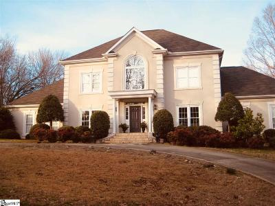 Simpsonville Single Family Home For Sale: 2 Deep Springs