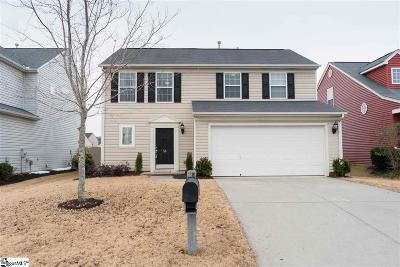 Simpsonville SC Single Family Home For Sale: $200,000
