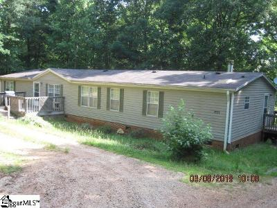 Greenville County Mobile Home For Sale: 2835 Tigerville