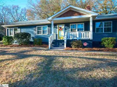 Greenville SC Single Family Home For Sale: $279,900