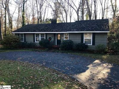 Greenville SC Single Family Home For Sale: $224,000