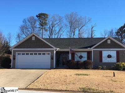 Greer Single Family Home For Sale: 2 Minert