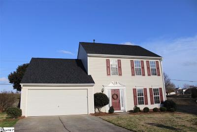 Greer Single Family Home For Sale: 306 Londonderry