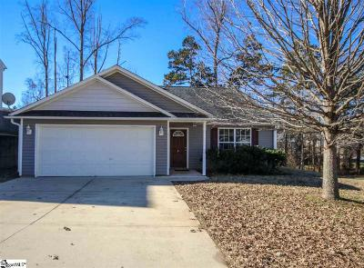 Greer Single Family Home Contingency Contract: 4 Red Shirt