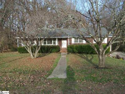 Greenville County Single Family Home For Sale: 12 Hampton