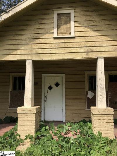 Greenville County, Spartanburg County Single Family Home For Sale: 554 S Center