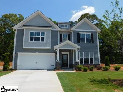 Boiling Springs Single Family Home For Sale: 532 Edgevale #Lot 109
