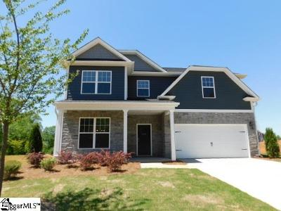 Boiling Springs Single Family Home For Sale: 509 Edgevale #Lot 71