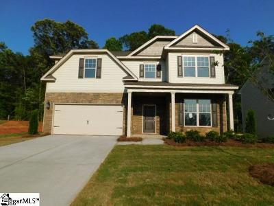 Boiling Springs Single Family Home For Sale: 524 Edgevale #Lot 111