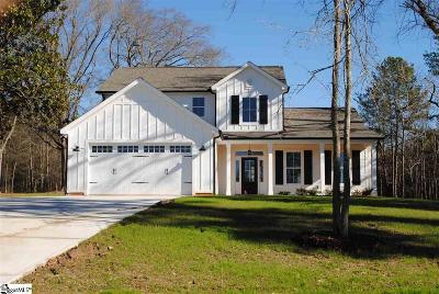 Greer Single Family Home Contingency Contract: 4020 Ridge