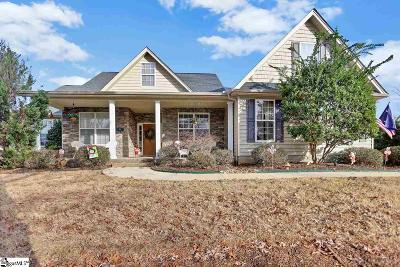 Greer Single Family Home For Sale: 6 Crusoe Cove