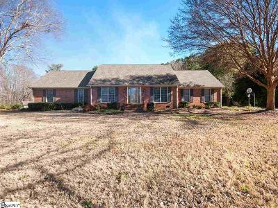 Spartanburg Single Family Home Contingency Contract: 1215 Shadowood