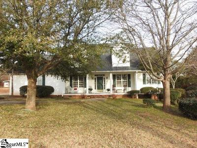 Easley Single Family Home For Sale: 122 Crosswell Acres