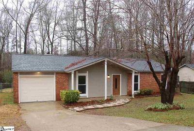 Piedmont Single Family Home For Sale: 501 Cardington