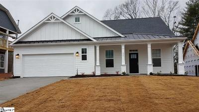 Boiling Springs Single Family Home For Sale: 829 Sterling #Lot 353