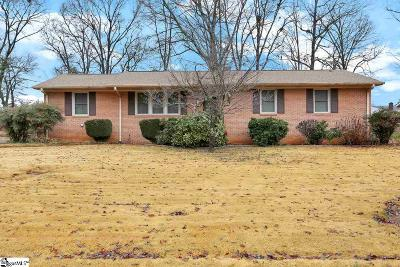 Greer Single Family Home Contingency Contract: 119 Clark