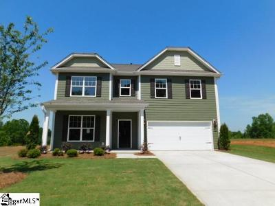 Boiling Springs Single Family Home For Sale: 517 Edgevale #Lot 73