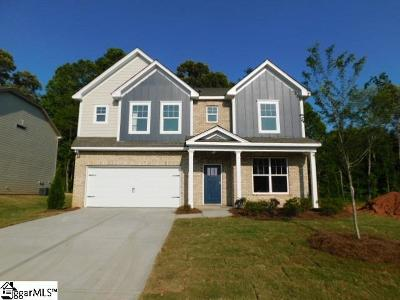 Boiling Springs Single Family Home For Sale: 520 Edgevale #Lot 112