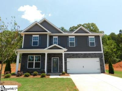 Boiling Springs Single Family Home For Sale: 540 Edgevale #Lot 107