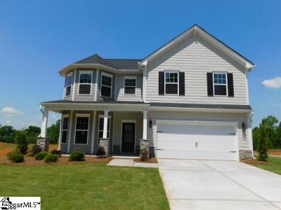 Boiling Springs Single Family Home For Sale: 525 Edgevale #Lot 75