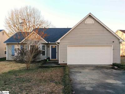 Simpsonville Single Family Home For Sale: 11 Two Creek