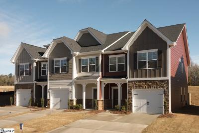 Greenville County Condo/Townhouse For Sale: 120 Hartland #101