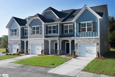 Greenville County Condo/Townhouse For Sale: 111 Hartland #6