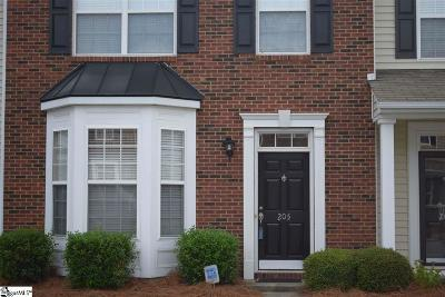 Mauldin Condo/Townhouse Contingency Contract: 205 Bedwin