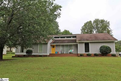 Simpsonville Single Family Home For Sale: 809 Brentwood