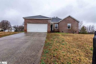 Greenville County Single Family Home For Sale: 201 River Watch