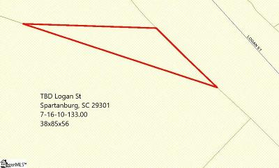 Spartanburg Residential Lots & Land For Sale: Logan