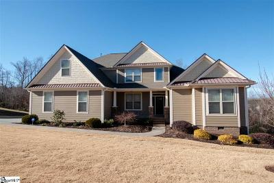 Greer Single Family Home Contingency Contract: 221 Castle Creek