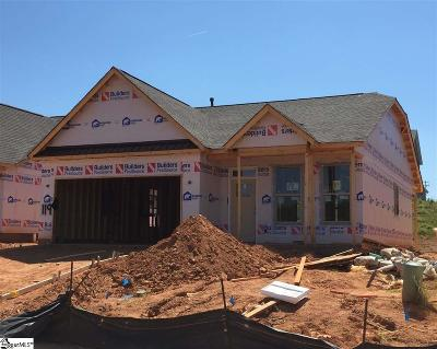 Boiling Springs Single Family Home For Sale: 640 Ivywood #Lot 119