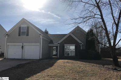 Greer Single Family Home Contingency Contract: 6 Brunner