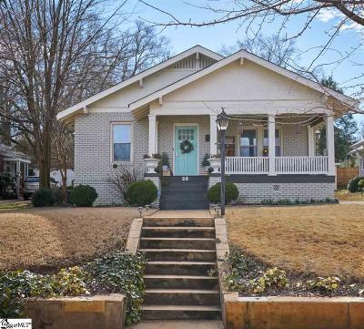 Greenville Single Family Home For Sale: 28 Tindal