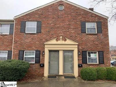 Greenville County Condo/Townhouse For Sale: 2530 E North